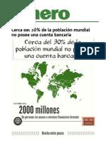 Cerca Del 30% de La Poblacio?n Mundial No Posee Una Cuenta Bancaria