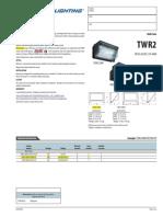 Ficha Tecnica Lithonia Twr2 m s 250w Metal Halide