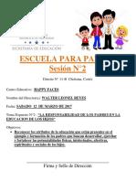 2-Marzo-escuela Para Padres 2016