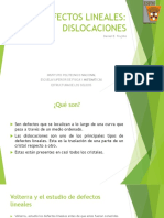 DEFECTOS LINEALES
