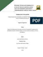 Efecto de La Aplicacion de Tres Dosis de Calcio en Rendimiento y Calidad de Dos Variedades de Sandia