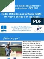 Conferencia de SDN Para UNTELS-2017