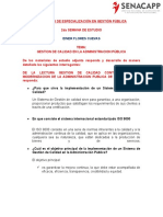 Examen Modulo 2 Gestion Publica