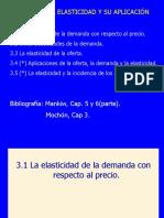 Tema 3. La Elasticidad y Su Aplicacion