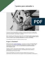 Fascismo e Socialismo