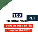 100 Từ Đồng Nghĩa Trong Bài Thi IELTS (IELTS Fighter)