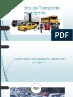 Medios De Transporte Urbano
