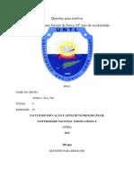 Chave RespostaFisika SMA2016