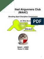 MAAC ARBR  Rules