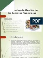 Instrumentos de Gestión de Recursos Financieros