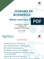 Present Ac i on Program a Bio Energia 161109