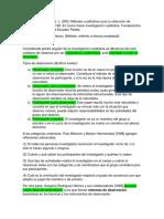 Resumen Texto Alvarez Gayou
