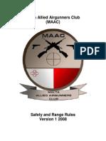 MAAC R Safety 2008
