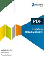 Conferencia Internacional Tecnología GIS Aplicada a La Distribución Eléctrica