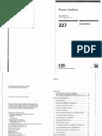 6. Goffman Frame Analysis