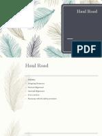 Haul Road.pptx