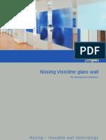 Divisorias Vidro Nusing Visioline 2009