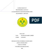 Laporan PKL Proses Perakitan Sasis Menja
