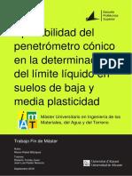 Aplicabilidad Del Penetrometro Conico en La Determi Rabat Blazquez Alvaro