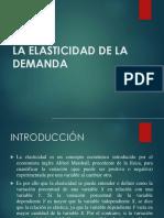 Elasticidad Economia