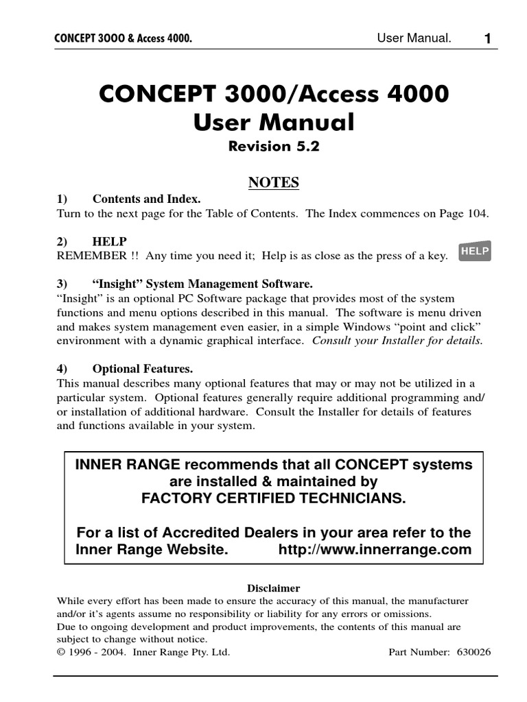 concept_3000_4000_user_manual.pdf | Access Control ... on