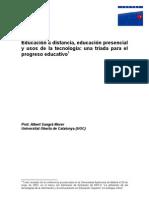 EDUCACION A DISTANCIA Y PRESENCIAL