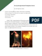 Tower Inferno - Fire Rips Through Oriental Technopolis in Taiwan