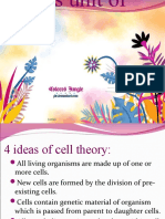 1 Cell as a Unit of Life