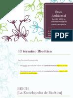 Bioetica Ecologica Conferencia CDHDF