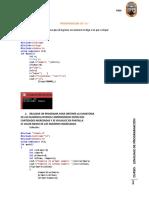 Programaciones Del II Ciglo