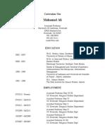 MuhamadAli CV