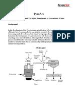 Gasification and Pyrolysis Treatment of Hazardous Waste