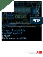 3BSE069469-600 - En Panel 800 Version 6 PP880R Hardware and Installation