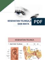 Kesehatan Telinga, Hidung, Mata