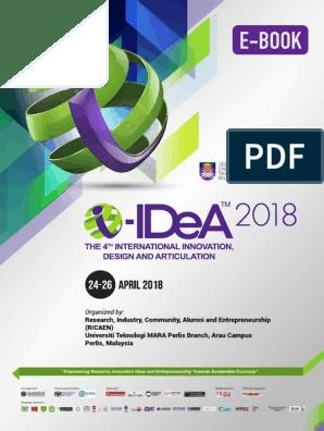 E Book Extended Abstract I-iDeA 2018   Plastic   Polyvinyl