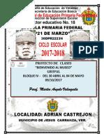 d.- Proyecto Escolar Museo