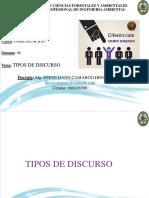 6.- Semana 06 Comunicación Tipos de Discurso