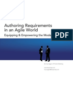 Authoring Requirements in an Agile World 05162009-313E
