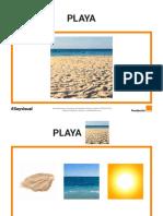 Mapa Semantico - La Playa