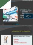 aplicacion y encuesta analisisy ressultados