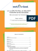 25 Steps To Fall & Holiday Fundraising Success By Network For Good!