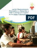 Manual de fallas comunes del Aula telemática HDT