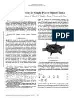 The Effect of Impeller and Tank Geometry on Power Number for a Pitched Blade Turbine-2002
