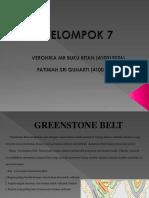 Kelompok 7. Greenstone Belt