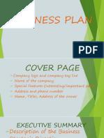Entrep Business Plan