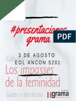 #Presentaciones Grama