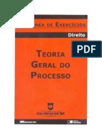 Coletânea de Exercícios - Teoria Geral do Processo (1º semetre 2008)(pdf)