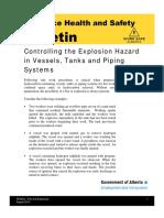 Controlling Hazards in Vessel