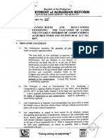 1998 AO 5 Revised Rules and Regulations Governing the Valuation of Lands Voluntarily Offered or Compulsorily Acquired Pursuant to Republic Act. No. 6657.pdf