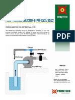 Primetech Priming Ejector